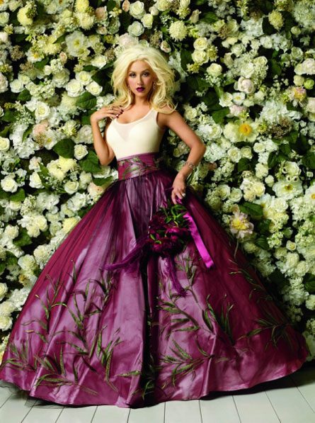 Christina Aguilera on Macy's 150th Birthday Ad Pictures